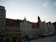 kamienice na wrocławskim rynku